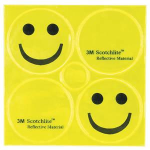 M-WAVE Reflickers Smile Reflexaufkleber