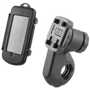 M-WAVE Bike Mount HC L Set Hardcase für mobile Endgeräte mit Halter
