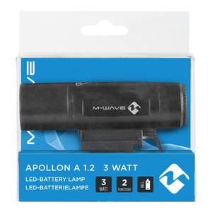 M-WAVE Apollon A 1.2 3 Watt Batterielampe