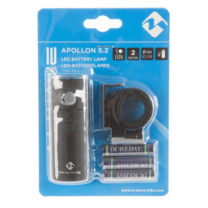 M-WAVE Apollon 5.2 Batterielampe