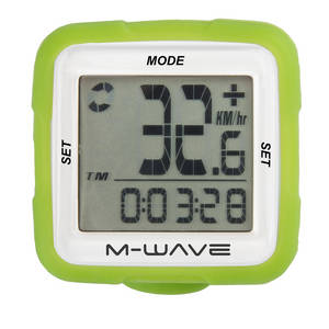 M-WAVE XIV Silicone bicycle computer