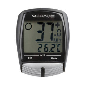 M-WAVE M16 bicycle computer