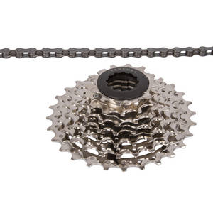 VENTURA Power 7 speed set of chain and cassette