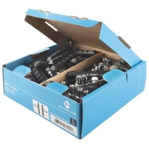 M-WAVE BPR-VC-Base Box 25 pair brake shoe