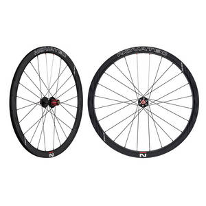 NOVATEC R3 Clincher disc wheel set
