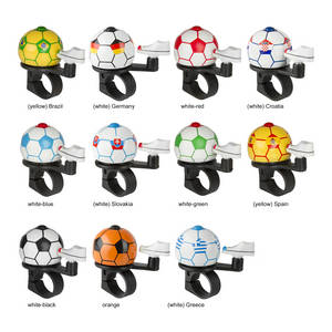 M-WAVE Soccer Greece Soccer mini bicycle bell