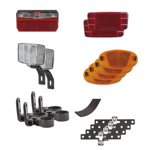 M-WAVE Streetproof Lighting set for trailers