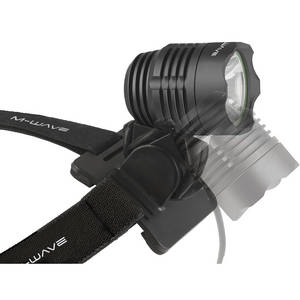 M-WAVE Apollon Ultra 700 battery pack head lamp