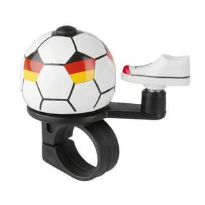 M-WAVE Soccer Germany Mini-Fahrradglocke