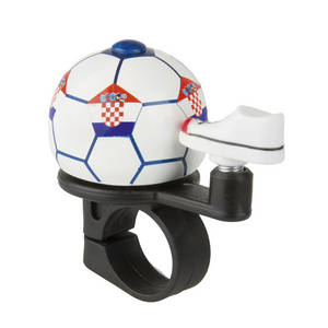 M-WAVE Soccer Croatia Mini-Fahrradglocke