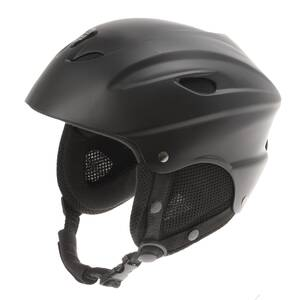 M-WAVE SKI black ski helmet