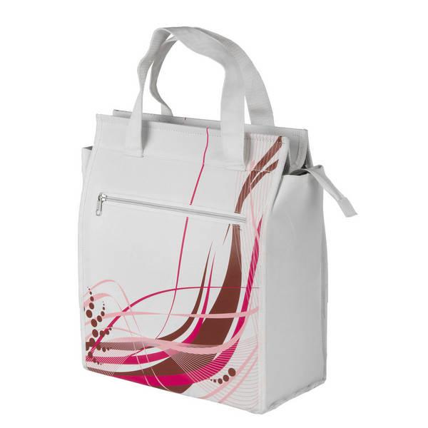 M-WAVE Amsterdam Style White Fancy Seitentasche