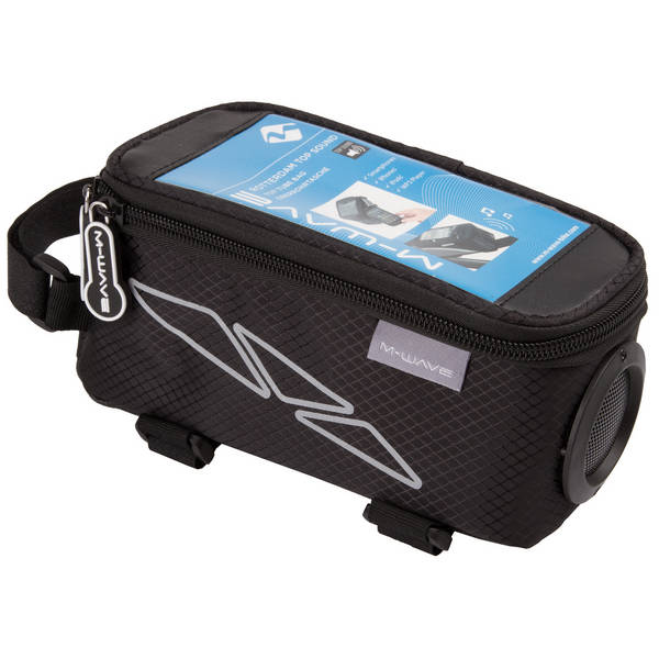 M-WAVE Rotterdam Top Sound top tube bag