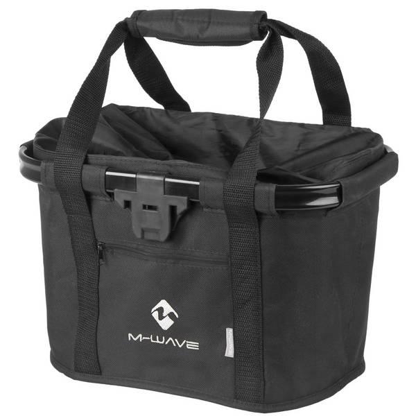 M-WAVE Utrecht Fold Black handlebar bag