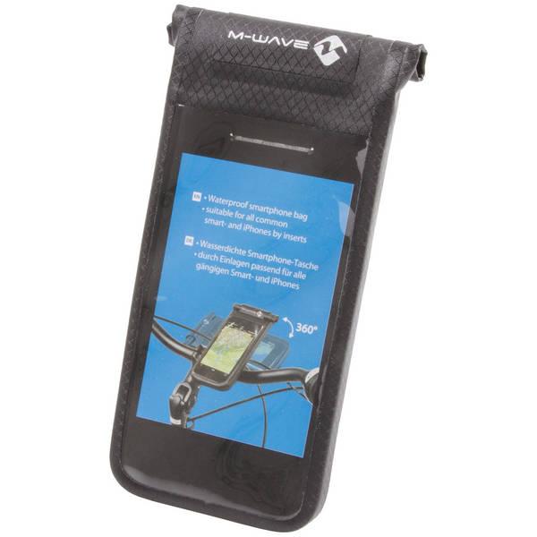 M-WAVE Black Bay bag for mobile devices