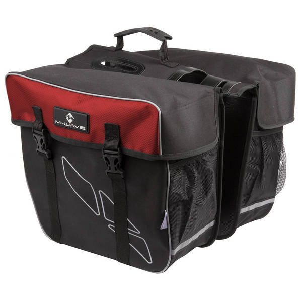 M-WAVE Amsterdam Double bicycle carrier bag