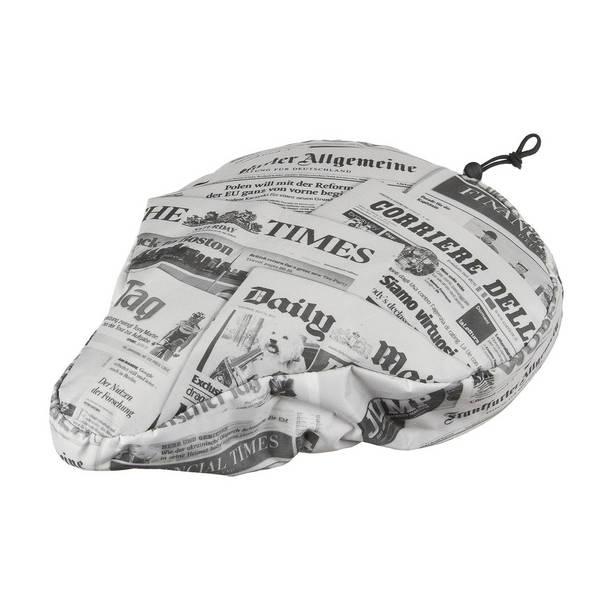 M-WAVE Newspaper Satteldecke