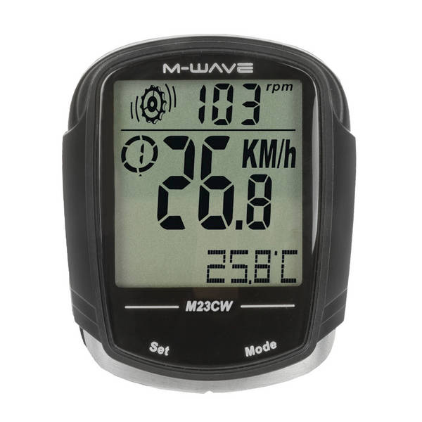 M-WAVE M23CW bicycle computer