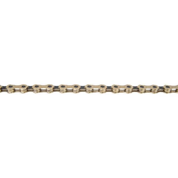 KMC X12 Ti-N Gold/Black derailleur chain