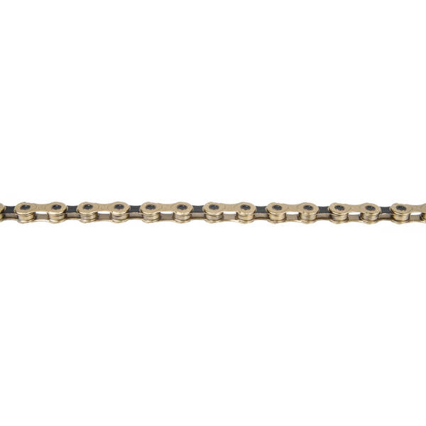 KMC X12 Ti-N Gold/Black indicator chain