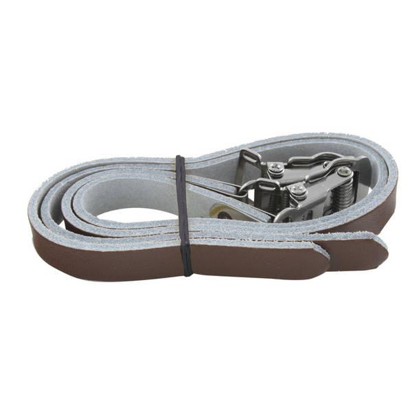 M-WAVE  leather calas pedal
