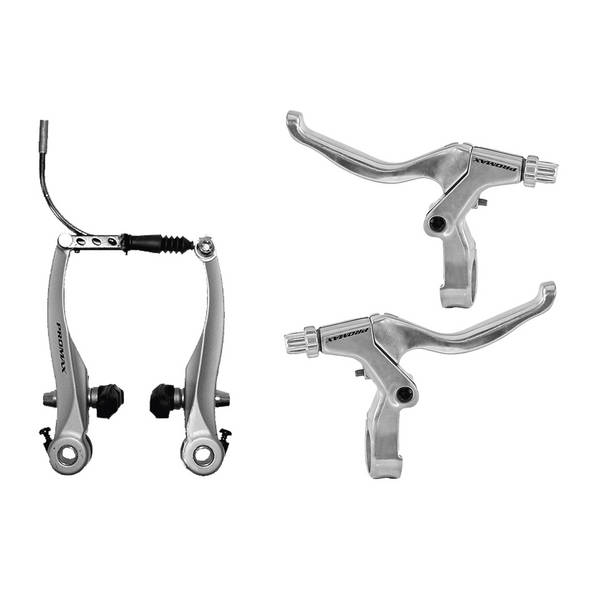 PROMAX  V-brake set with brake levers