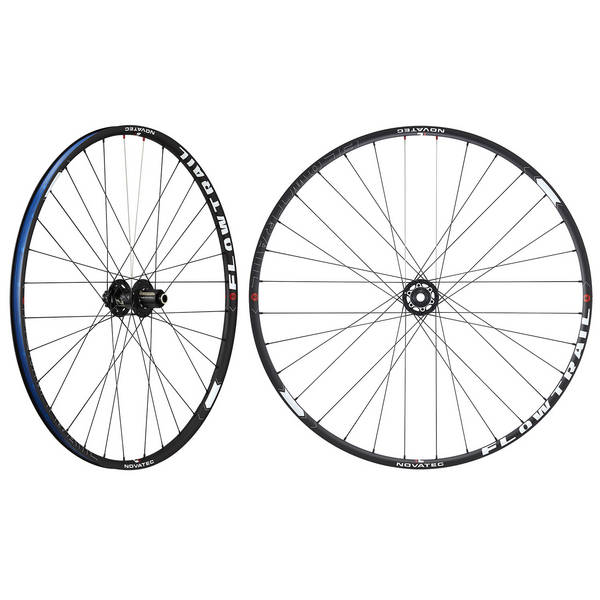 NOVATEC Flowtrail disc wheel set