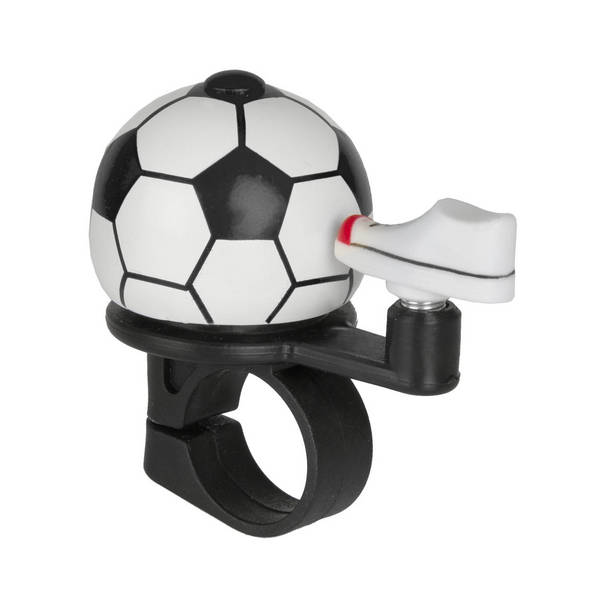 M-WAVE Soccer Mini-Fahrradglocke