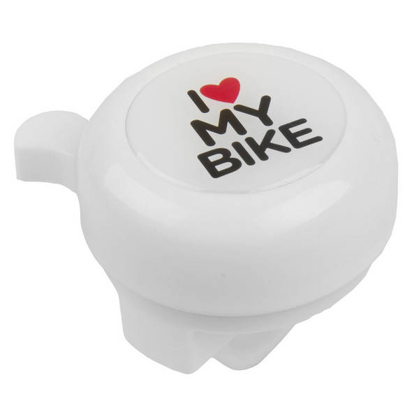 M-WAVE I love my bike Bella 3D bicycle bell