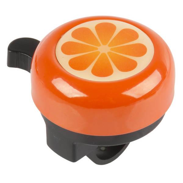 M-WAVE Bella 3D Orange Fahrradglocke