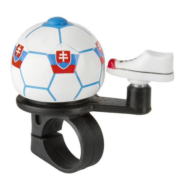 M-WAVE Soccer Slovakia mini bicycle bell Soccer