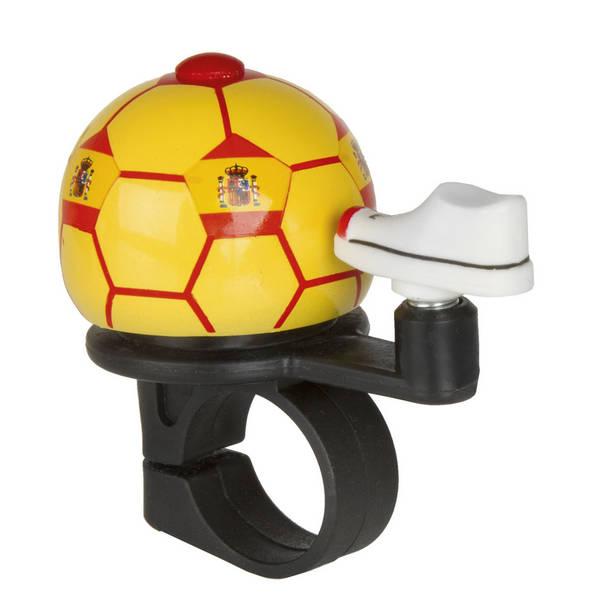 M-WAVE Soccer Spain Mini-Fahrradglocke