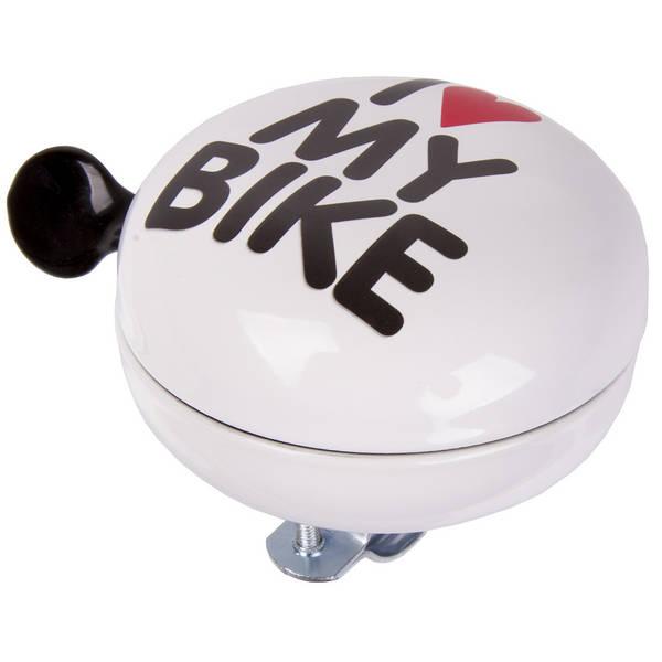 M-WAVE I love my bike Maxi Ding-Dong Maxi-Fahrradglocke