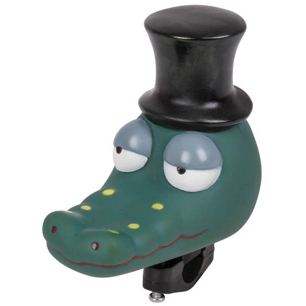 Crocodile theme cycle horn