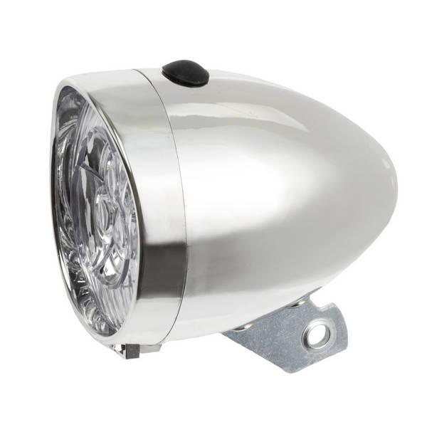 3 LED battery head lamp