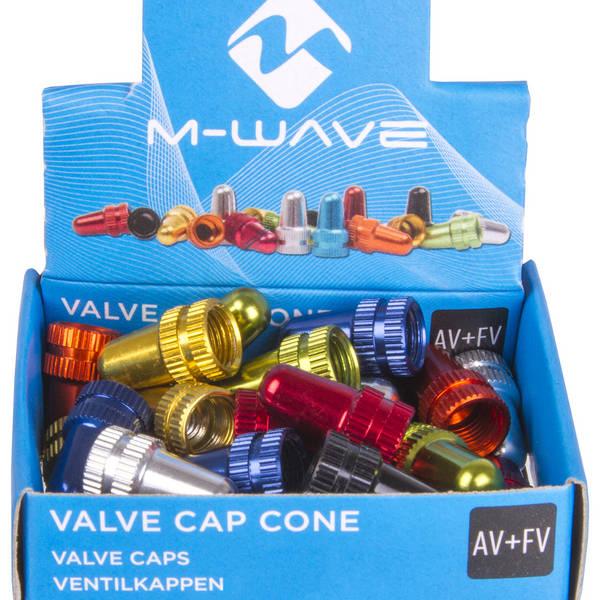 M-WAVE Valve Cap Cone valve cap set
