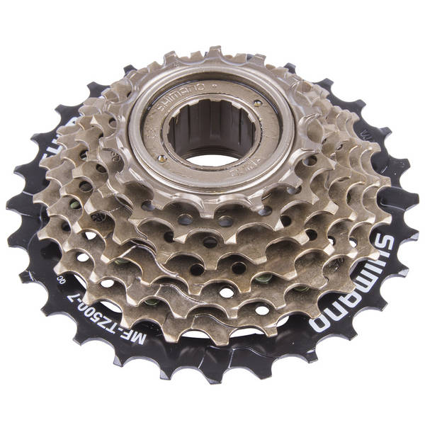 SHIMANO Tourney MF-TZ500 7 speed sprocket with screw attachment