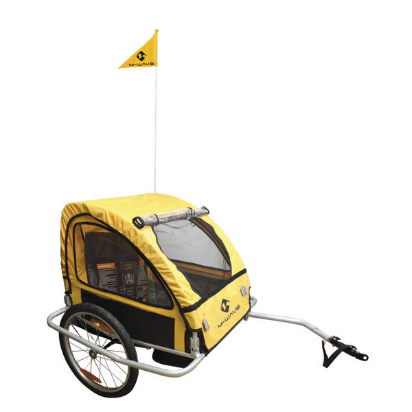 M-WAVE Stalwart Kid Easy Light remolque niños/equipaje bicicleta