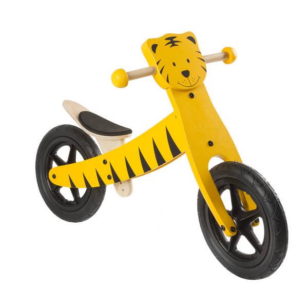 Tiger 2 in 1 Holz-Lernlaufrad