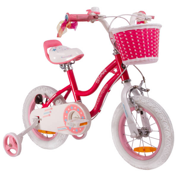 ROYALBABY Star Girl Drum Kinderfahrrad