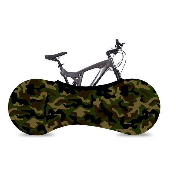 VELOSOCK Camouflage funda bicicleta interior