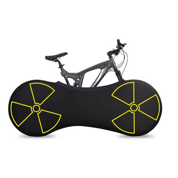 VELOSOCK Radioactive indoor bike cover