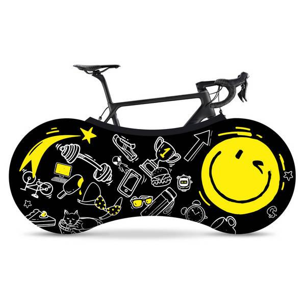 VELOSOCK Smile indoor bike cover