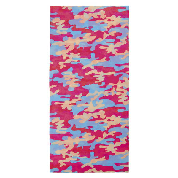 M-WAVE Pink Blue Camouflage Multifunktionstuch