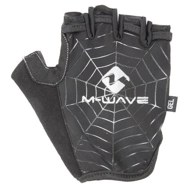 M-WAVE Spiderweb-Gel Half Kurzfingerhandschuhe
