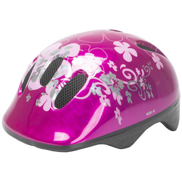 M-WAVE KID-S Flower Kinderhelm