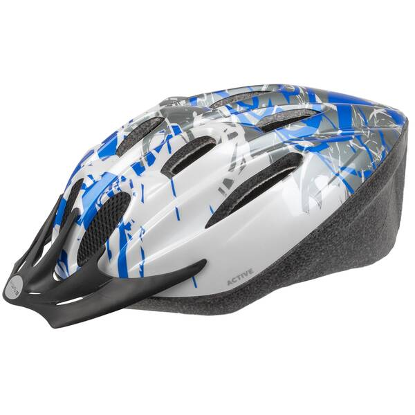M-WAVE Active Blue Spots bicycle helmet