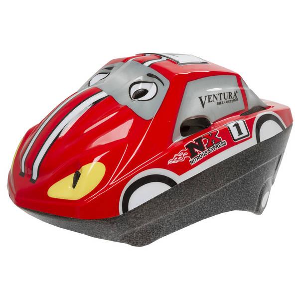 VENTURA Racing Car 3D Fahrradhelm