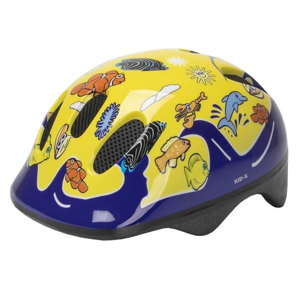 M-WAVE KID-S Sea Land Yellow children helmet