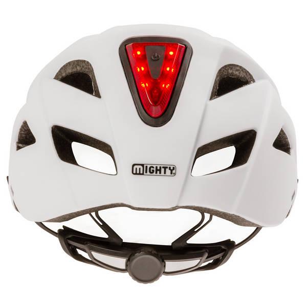 MIGHTY Move + Light Tri casco de bicicleta incl.luz de casco